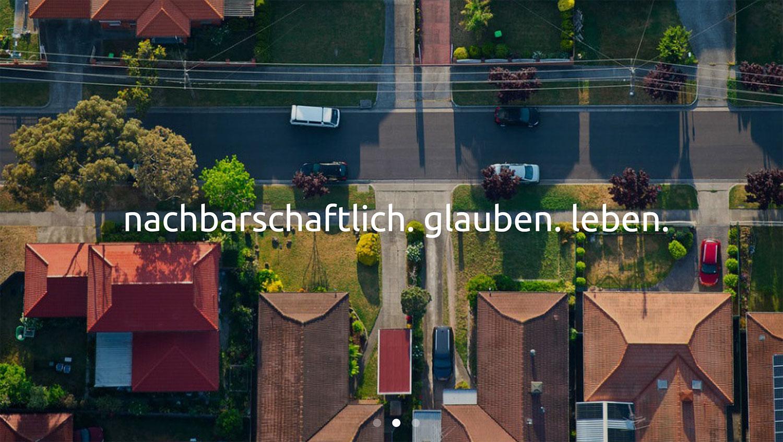 Web-Design für deine freundliche Kirche aus der   aichwalder Nachbarschaft