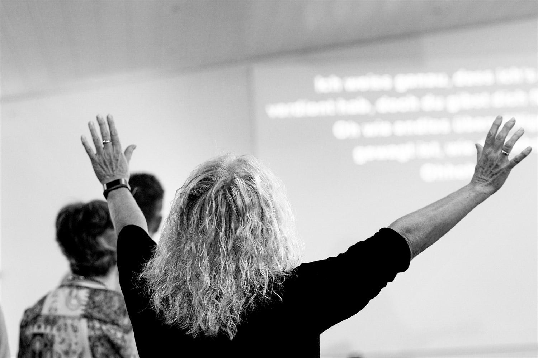 Fotoshooting in Bietigheim-Bissingen für eine christliche Gemeinde